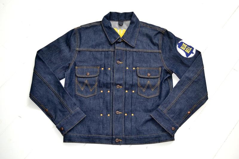 wrangler blue bell jacket long john blog promo jack champion 1956 1904 jeans denim selvage golden selvedge blue rigid unwashed deadstock jas spijkerstof spijkerjas usa cowboy rodeo (20)