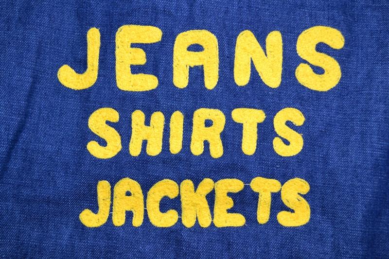 wrangler blue bell jacket long john blog promo jack champion 1956 1904 jeans denim selvage golden selvedge blue rigid unwashed deadstock jas spijkerstof spijkerjas usa cowboy rodeo (28)