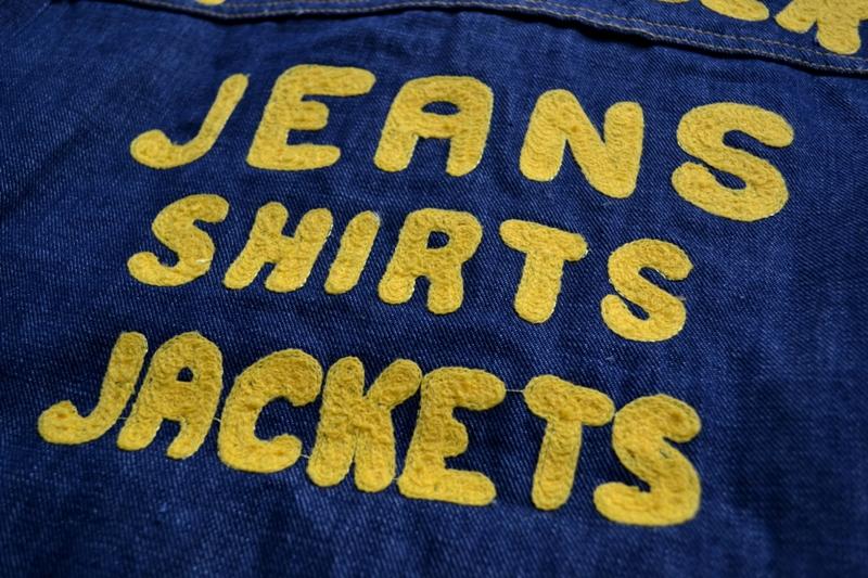 wrangler blue bell jacket long john blog promo jack champion 1956 1904 jeans denim selvage golden selvedge blue rigid unwashed deadstock jas spijkerstof spijkerjas usa cowboy rodeo (29)
