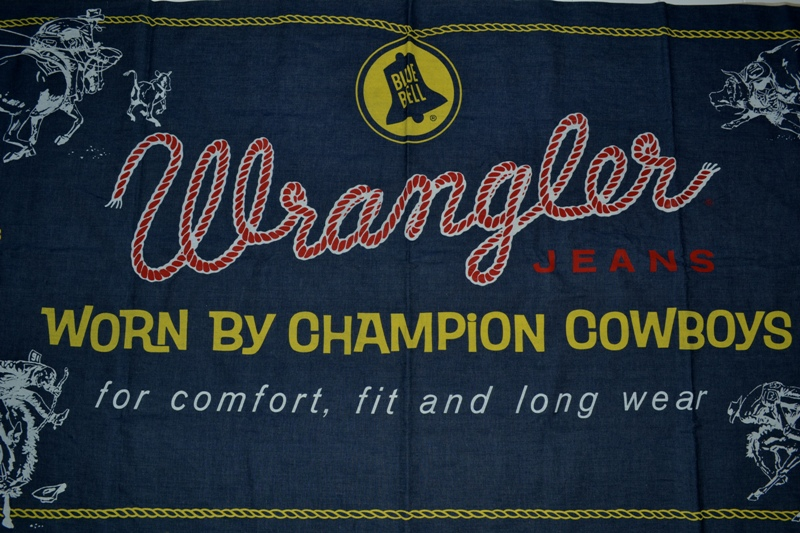 wrangler blue bell jeans banner long john blog vintage usa america window promo material raw unwashed selvage plain selvedge (1)