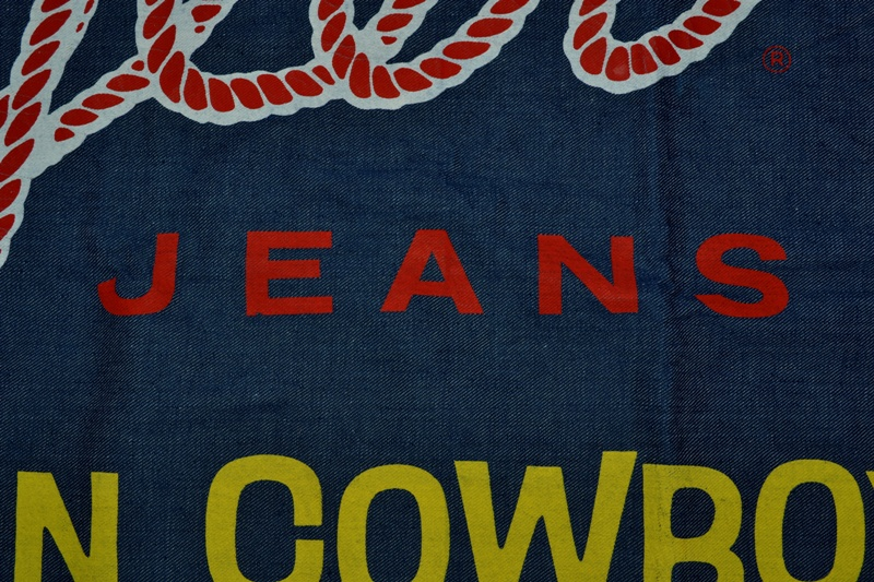 wrangler blue bell jeans banner long john blog vintage usa america window promo material raw unwashed selvage plain selvedge (12)
