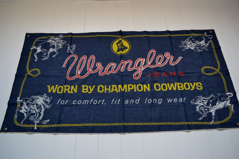 wrangler blue bell jeans banner long john blog vintage usa america window promo material raw unwashed selvage plain selvedge (2)