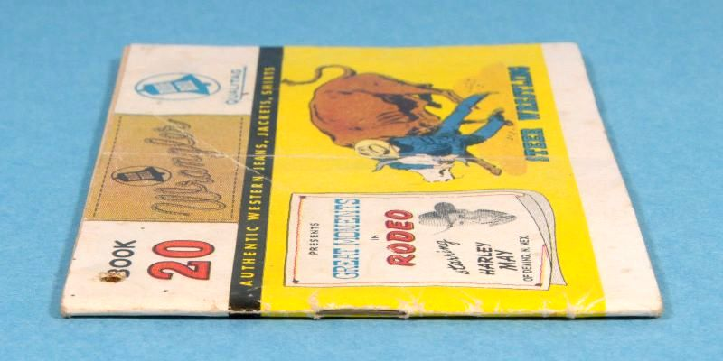 wrangler blue bell jeans denim long john blog book usa cowboys rodeo riders rider bull denim (8)