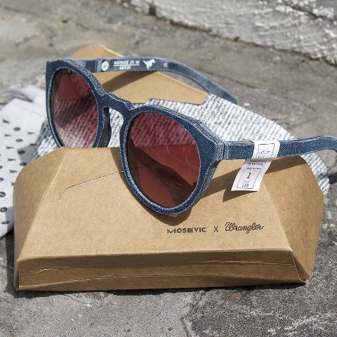 wrangler mosevic sunglasses collab limited edition longjohn blog jeans denim sustainable re-use recycle glasses 2017 special edition denimheads denimhead (1)